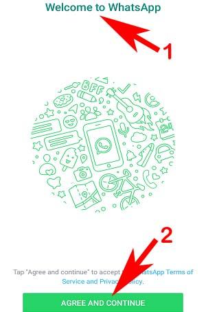 Whatsapp Karte.Whatsapp Messenger App Par New Whatsapp Account Id Kaise Banaye